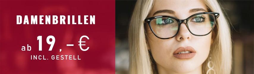 Einstärkenbrillen ab 19,00 €