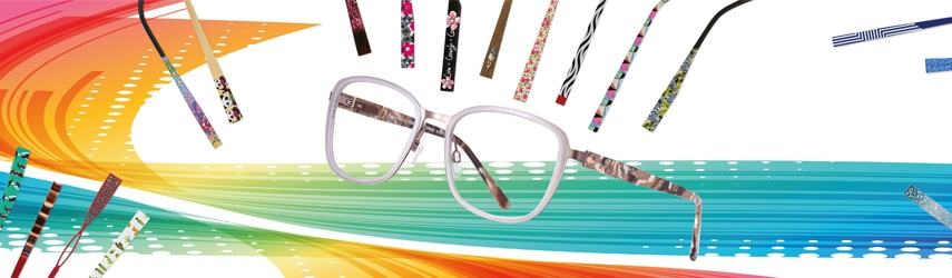 Brille mit Wechselbügel