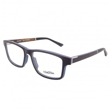 Brille aus Ebenholz