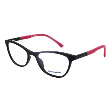 Brillengestell Damen schwarz/pink 4530-1