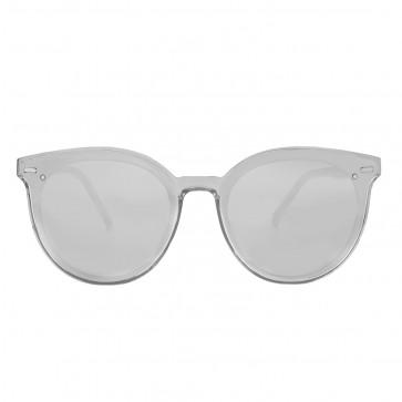 Kobelfein Sonnenbrille Katzenauge transparent grau 5000-1