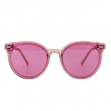 Kobelfein Sonnenbrille Katzenauge transparent pink 5000-2