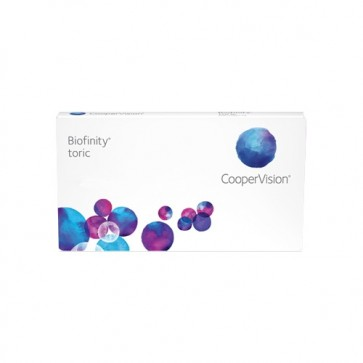 Cooper Vision biofinity toric Kontaktlinsen Tageslinsen UV Box