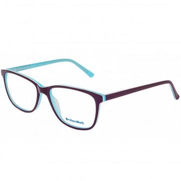 Damen Brillen Türkis Acetat