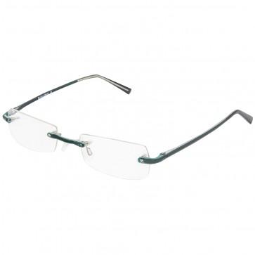 BW 5995 randlose Brille whynot Fassung Kunststoff matt dunkel grün dunkelgrün