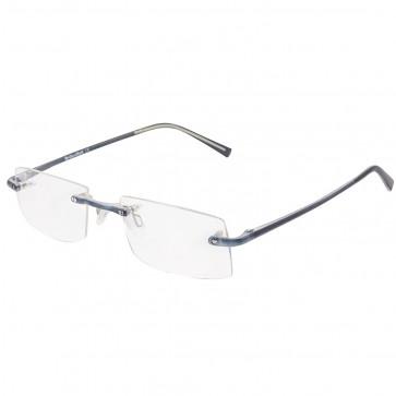 BW 5995 randlose Brille whynot Fassung Kunststoff dunkelblau