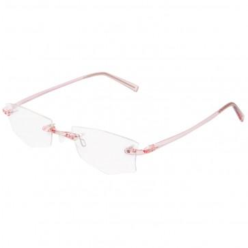 BW 5995 randlose Brille whynot Fassung Kunststoff pink
