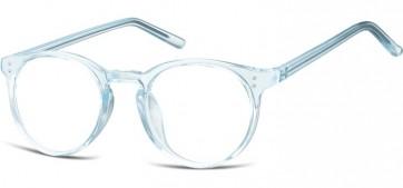Sunoptic Brille in Sehstärke transparent blau