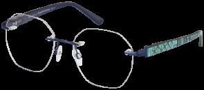 ChangeMe Brille 2536-1 mit Wechselbügel 8748-11 wie abgebildet