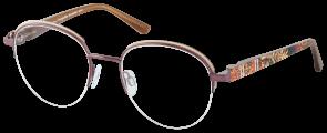 ChangeMe Brille 2642-1 mit Wechselbügeln wie abgebildet