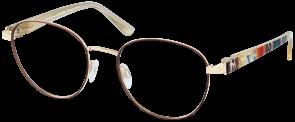ChangeMe Brille 2680-2 mit Wechselbügeln wie abgebildet