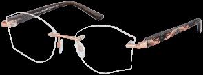 ChangeMe Brille 2714-1 mit Wechselbügeln wie abgebildet
