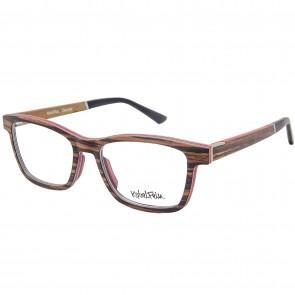 Kobelfein Holzbrille Denver 4003-3 zebra mit Sehstärke