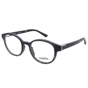 Kobelfein Holzbrille Las Vegas 4004-1 schwarz rund mit Sehstärke
