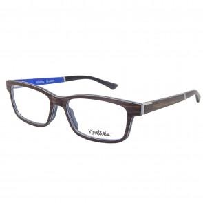 Kobelfein Holzbrille Houston 4005-1 schwarz mit Sehstärke