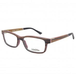 Kobelfein Holzbrille Houston 4005-3 zebra mit Sehstärke