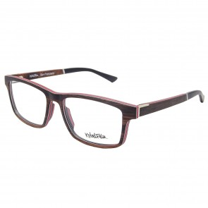 Kobelfein Brille aus Ebenholz San Francisco 4006-3 mit Sehstärke