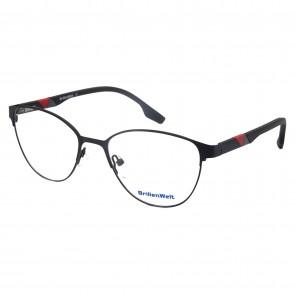 Brillengestell Damen Metall schwarz 4331-1