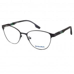 Brillengestell Damen Metall schwarz 4331-3