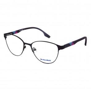 Brillengestell Damen Metall schwarz 4331-5