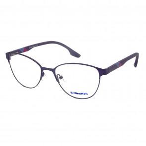 Brillengestell Damen Metall schwarz 4331-6