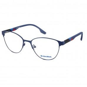 Brillengestell Damen Metall schwarz 4331-7