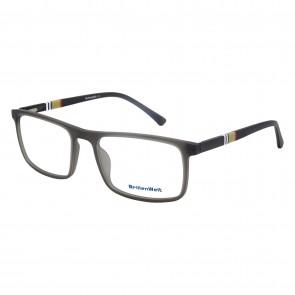 Brillengestell Herren grau 4529-4