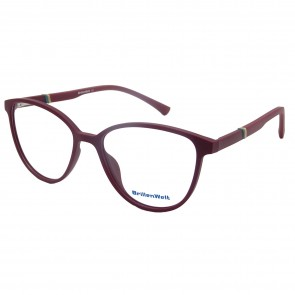 Brillengestell Damen Burgundrot 4531-3