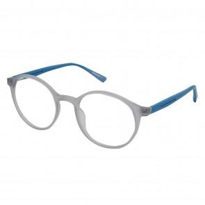Brillengestell Damen Heren grau/grün rund 4533-4