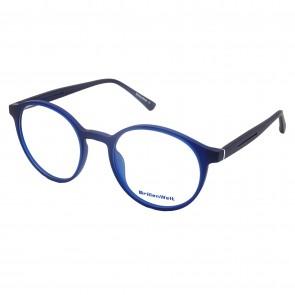 Brillengestell Damen Heren blau rund 4533-6