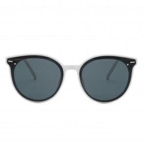 Kobelfein Sonnenbrille Katzenauge schwarz/weiß 5000-3