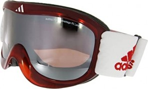 adidas Skibrille a183 Pinner transparent red