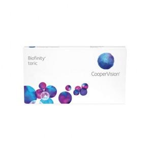 Cooper Vision Biofinity Toric Kontaktlinsen 6 stk. ab 25 € Gratis Versand bei BrillenWelt