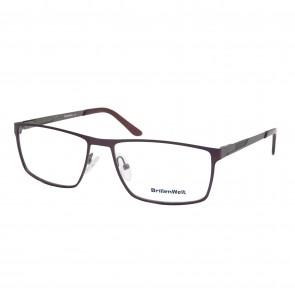 BrillenWelt Brille in Sehstärke braun mit Federscharnier Metall