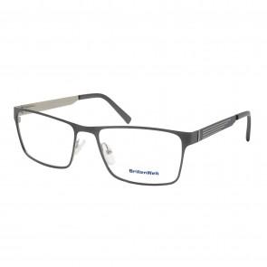 BrillenWelt Brille in Sehstärke silber mit Federscharnier Metall
