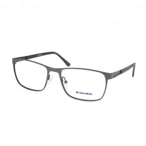 BrillenWelt Brille in Sehstärke schwarz mit Federscharnier Metall