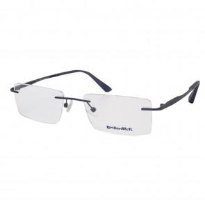 BrillenWelt Brille in Sehstärke schwarz mit Federscharnier Titan