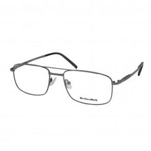 BrillenWelt Brille in Sehstärke silber mit Federscharnier Titan