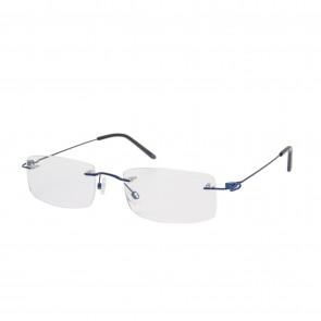 BrillenWelt whynot randlose Brille in Sehstärke türkis/schwarz Metall