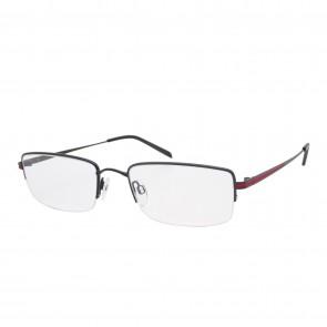 BrillenWelt Brille in Sehstärke schwarz/rot Metall