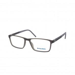 BrillenWelt Brille in Sehstärke dunkelgrau mit Federscharnier