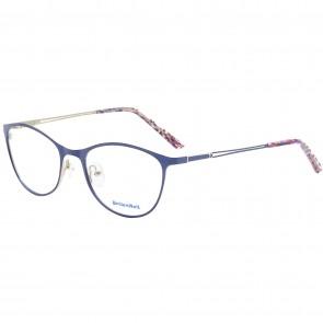 Wunderschöne Brille mit Sehstärke Metall bunt blau Brillenbügel