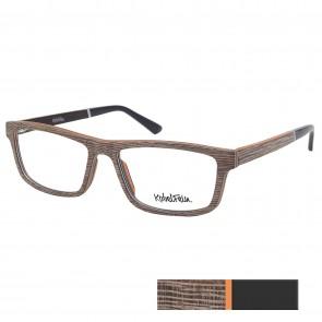 Kobelfein Holzbrille New York 3001-1 braun mit Sehstärke