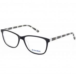Damen Brillen Streifenmuster Acetat