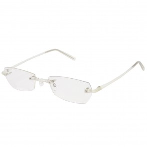 BW 5995-2 randlose Brille whynot Fassung Kunststoff matt Kristall
