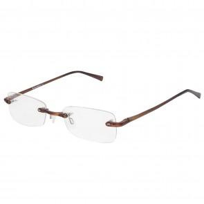 BW 5995 randlose Brille whynot Fassung Kunststoff braun