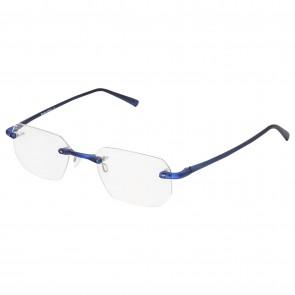 BW 5995 randlose Brille whynot Fassung Kunststoff matt blau
