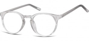Sunoptic Brille in Sehstärke transparent grau