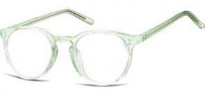 Sunoptic Brille in Sehstärke transparent grün