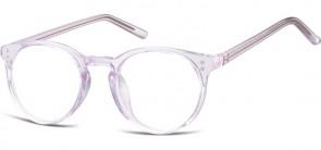 Sunoptic Brille in Sehstärke transparent violett